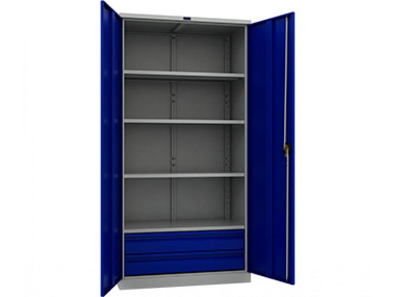 Шкаф инструментальный TC-1995-004020 950x500х1900 мм (ДхГхВ)