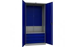 Шкаф инструментальный TC-1995-041030 950x500х1900 мм (ДхГхВ)