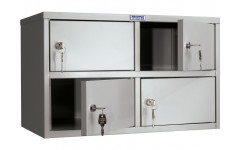 Металлический шкаф кассира AMB-30/4 600x330x370 мм (ДхГхВ)