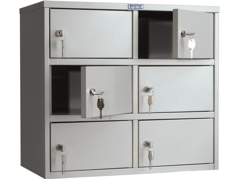Металлический шкаф кассира AMB-45/6 600x330x545 мм