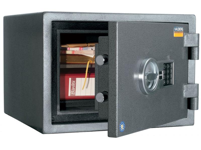 Сейф огневзломостойкий VALBERG ГАРАНТ 32 EL кодовый замок 445x440х315 мм (ДхГхВ)