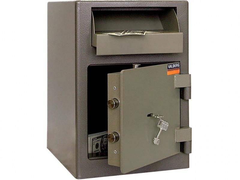 Сейф депозитный VALBERG ASD-19 механический замок 342x381х489 мм (ДхГхВ)