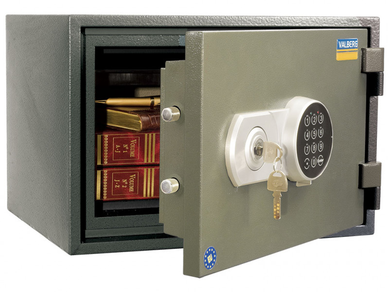 Сейф огнестойкий (Класс 60Б) VALBERG FRS-30 EL кодовый замок 430x365х300 мм (ДхГхВ)