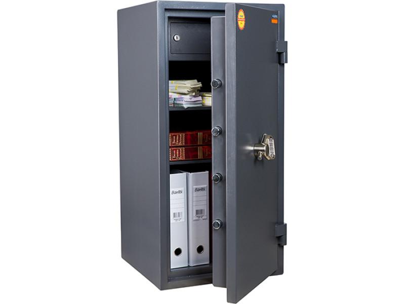 Сейф взломостойкий (2 класс) VALBERG ГРАНИТ 90Т EL кодовый замок 440x430х900 мм (ДхГхВ)