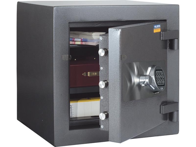 Сейф взломостойкий (3 класс) VALBERG ФОРТ 50 EL кодовый замок 510x510х500 мм (ДхГхВ)