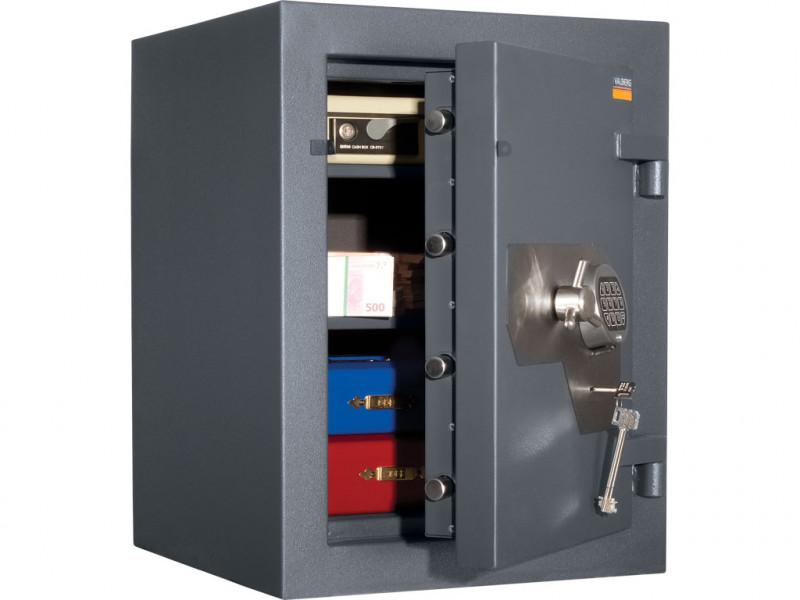 Сейф взломостойкий (3 класс) VALBERG ФОРТ 67 EL кодовый замок 510x510х670 мм (ДхГхВ)