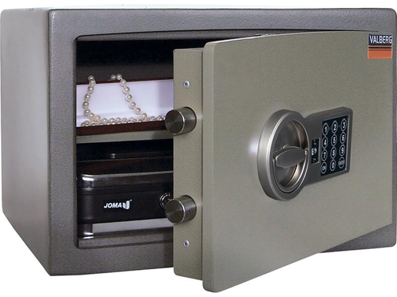 Сейф взломостойкий (1 класс) VALBERG КАРАТ-30 EL-A кодовый замок+сигнализация 440x380х300 мм