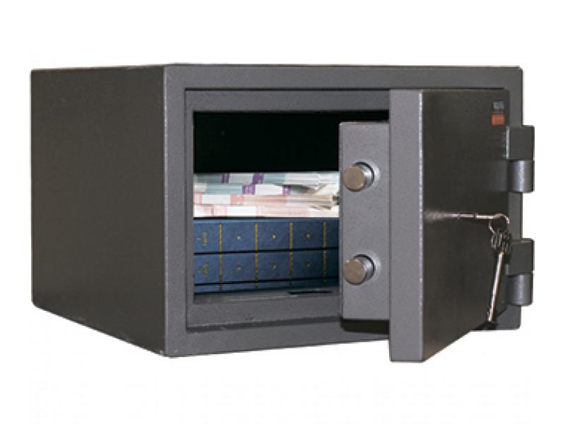 Сейф взломостойкий (1 класс) VALBERG КВАРЦИТ-25 механический замок 375x360х250 мм (ДхГхВ)