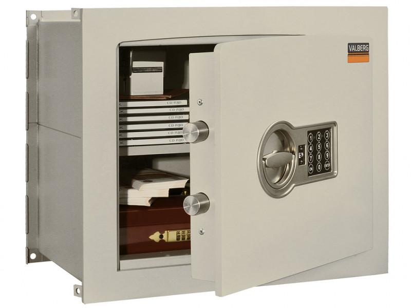 Сейф встраиваемый VALBERG AW-1 3829 EL кодовый замок 450x286х380 мм (ДхГхВ)