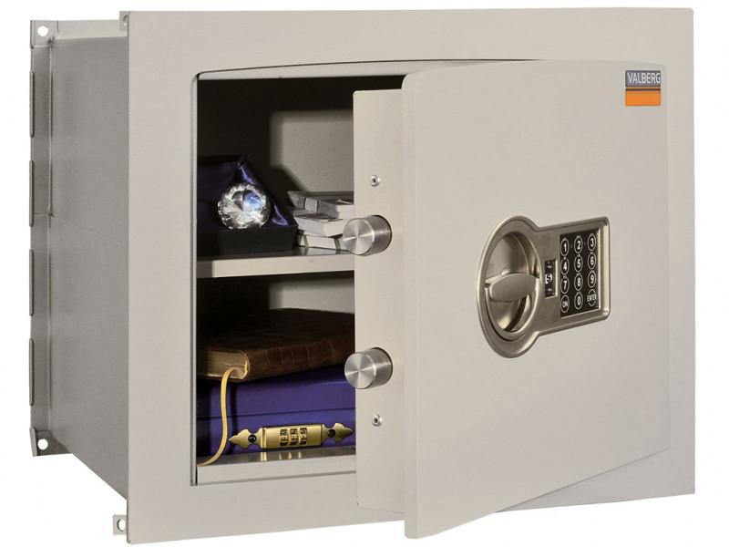 Сейф встраиваемый VALBERG AW-1 3836 EL кодовый замок 450x360х380 мм (ДхГхВ)