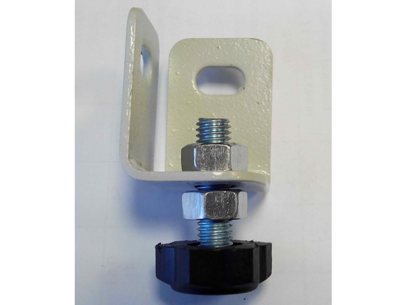 Регулируемая пластиковая опора в комплекте с металлическим подпятником