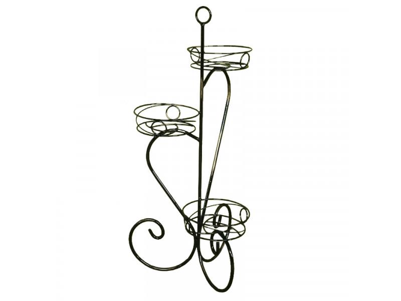 Подставка для цветов Крокус №3 напольная (Высота 835 мм)