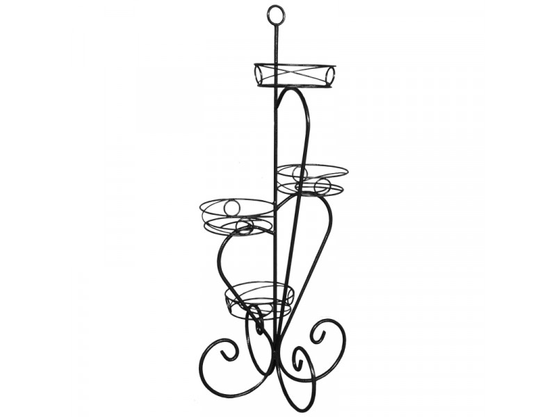 Подставка для цветов Крокус №4 напольная (Высота 1020 мм)