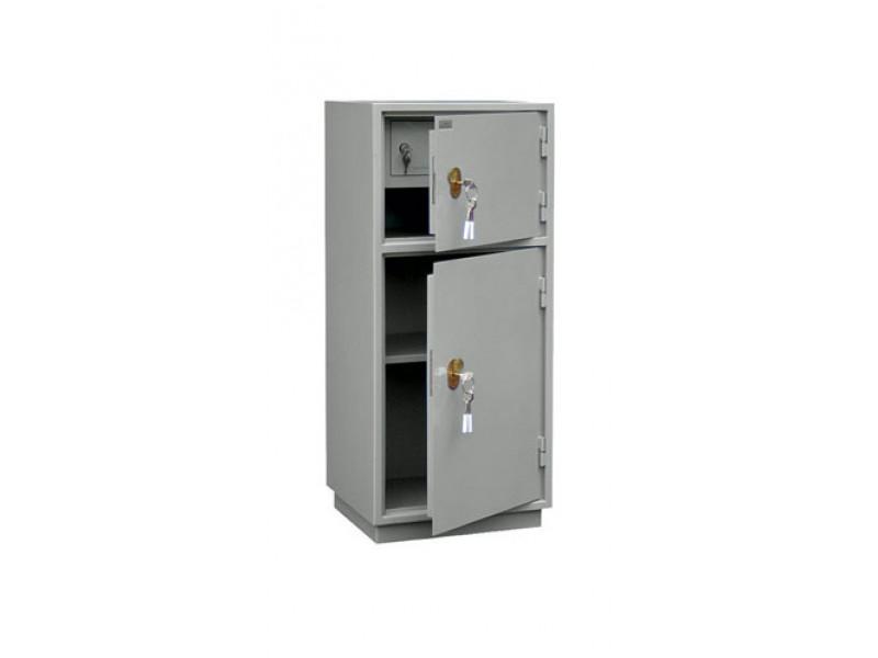 Бухгалтерский шкаф КБС-042т механический замок 420x360х960 мм (ДхГхВ)