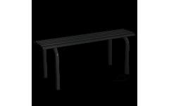 Металлическая скамейка без спинки №1 (Цвет металла на выбор) (Длина 1010мм)