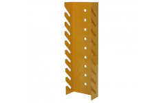 Держатель для ключей для верстака металлического 250х25х80 мм (ДхГхВ)