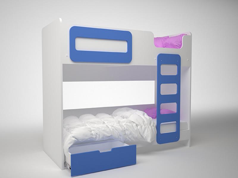 Кровать детская двухэтажная 1924x860х1652 мм (ДхГхВ)