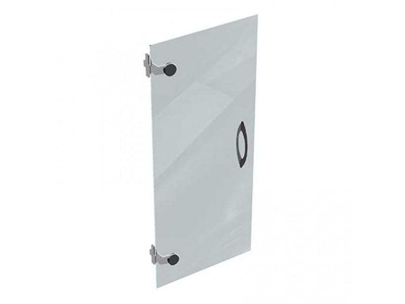 Дверца стеклянная прозрачная на 3 секции S3 295х1054 мм (ДхВ)
