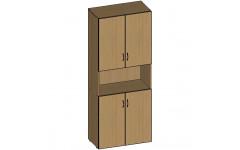 Шкаф для документов НШ-11 760х380х1890 мм (ДхГхВ)