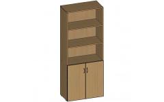 Шкаф для документов НШ-2 760х380х1890 мм (ДхГхВ)