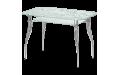 Стол стеклянный Византия-2 (Ножки хром / металлик) 900х600х750 мм (ДхГхВ)