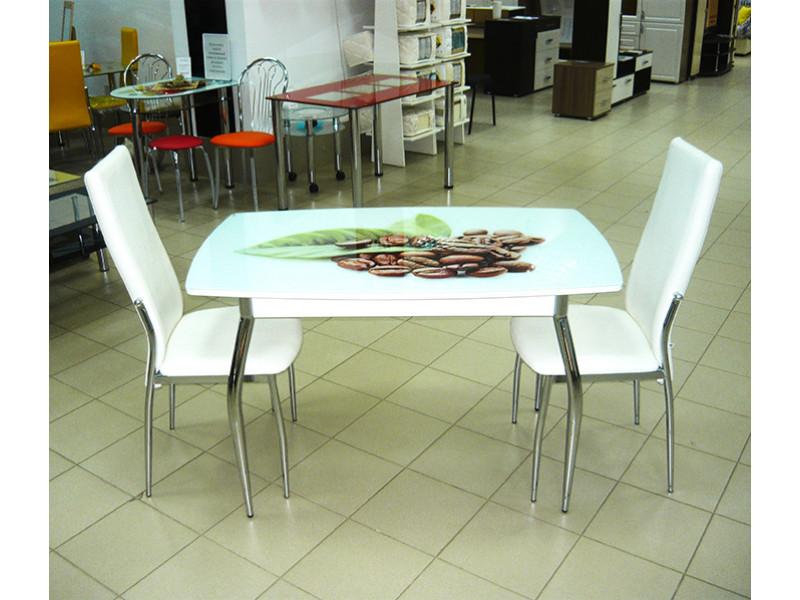Стол стеклянный Комфорт-2 с фотопечатью 1000х600х750 (ДхГхВ)