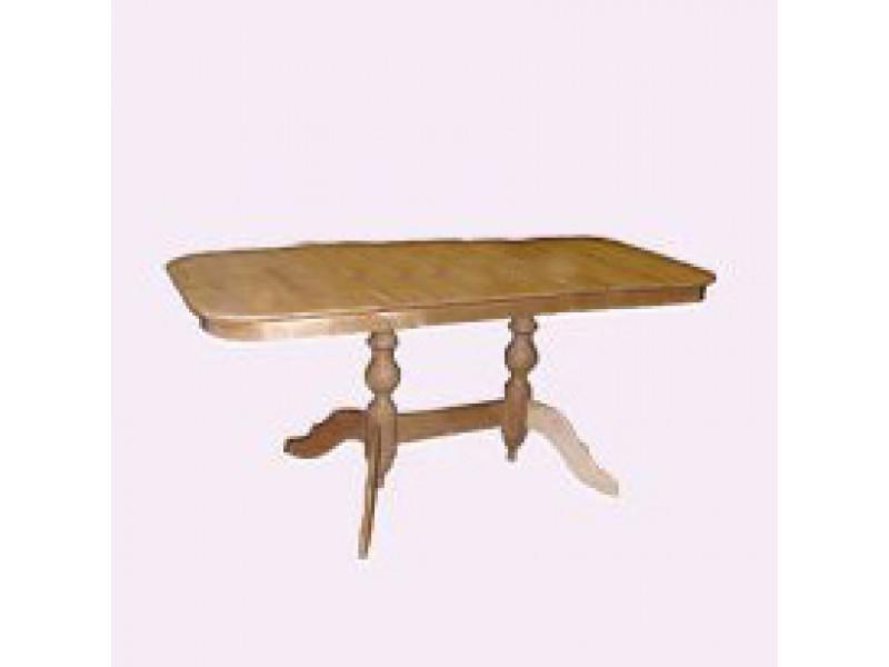 Стол из массива березы Обеденный (Нераздвижной) 1200х700х750 мм (ДхГхВ)
